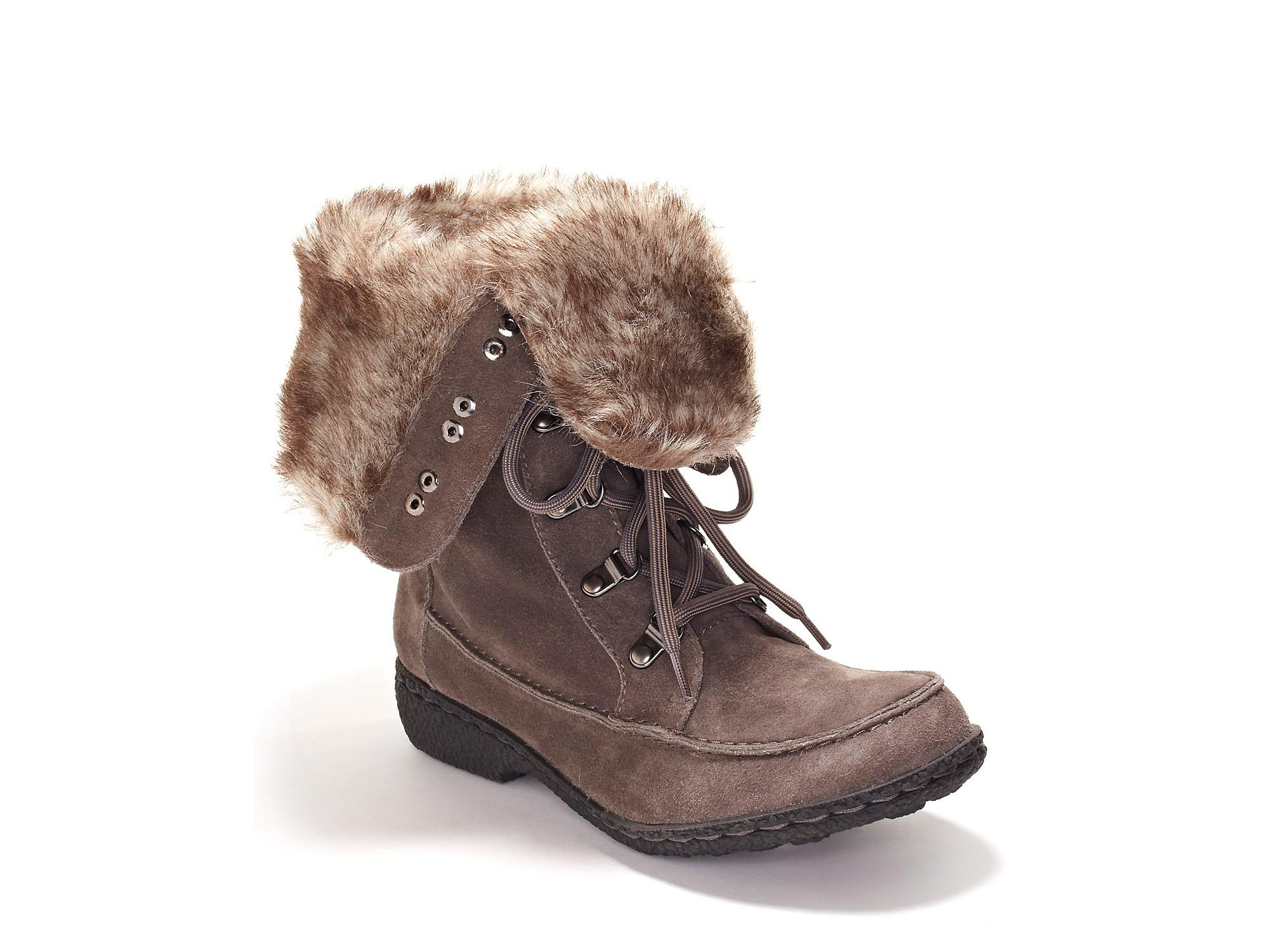46a4b68cae123 Lyst - Sam Edelman Sam Edelman Mariela Weather Boots in Gray