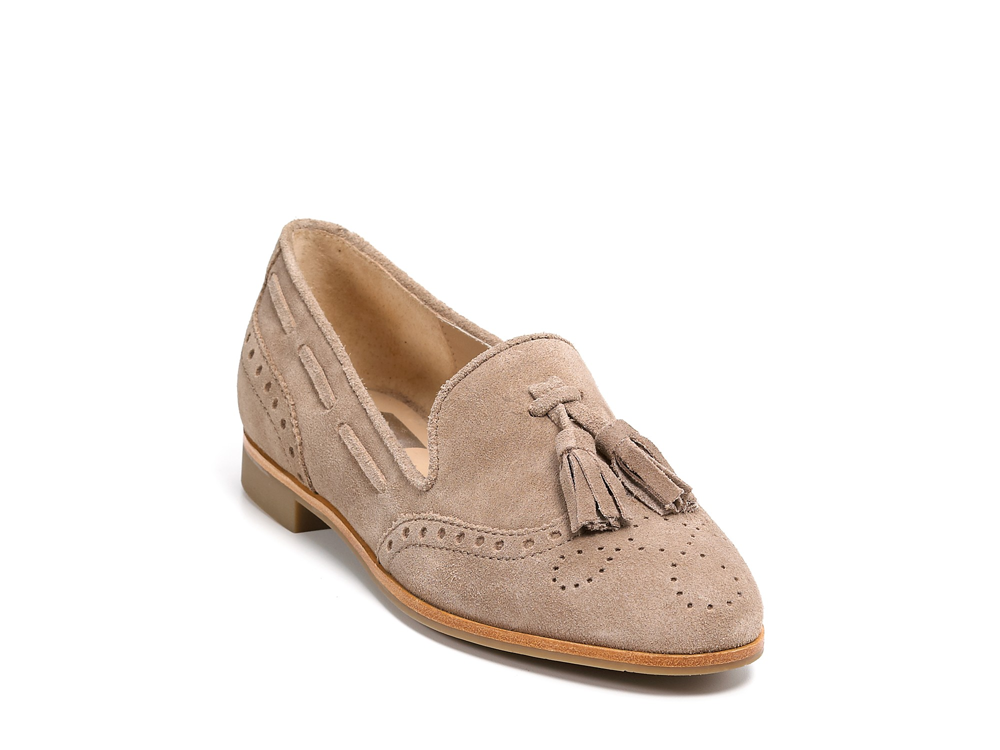 84adfd96f Dolce Vita Dv Marcel Suede Oxford Loafers in Brown - Lyst