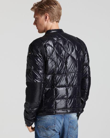 Jamison Diesel Jamison Puffer Jacket In Black For Men Lyst