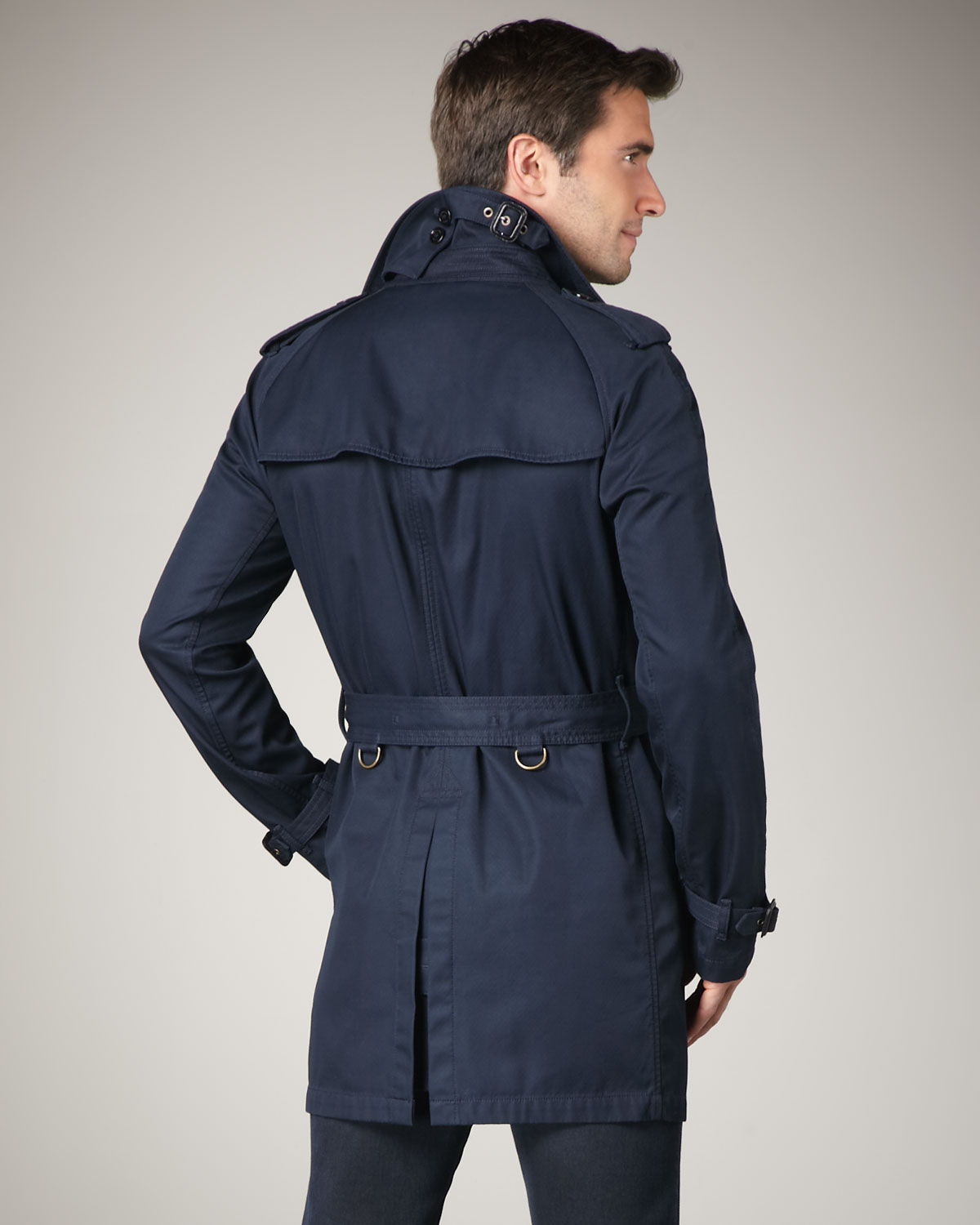 Find mens navy double breasted trench coat at ShopStyle. Shop the latest collection of mens navy double breasted trench coat from the most popular.