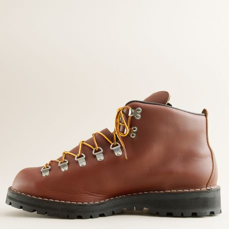 crew danner mountain light ii hiking boots in brown for men warm. Black Bedroom Furniture Sets. Home Design Ideas