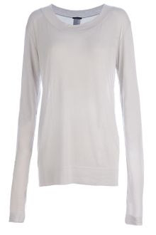Ann Demeulemeester Sheer Top - Lyst