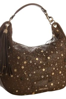 Jimmy Choo Large Leather Solar Hobo - Lyst