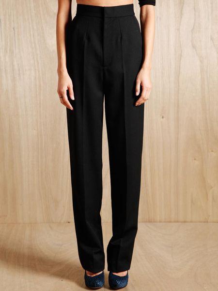 Creative Women39s Plain Front Tuxedo Pants Black