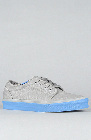 15164bc3c1 Lyst - Vans The 106 Vulcanized Sneaker in Frost Grey   Classic Blue ...