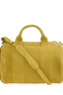 Alexander Wang Yellow Rocco Duffle Bag - Lyst