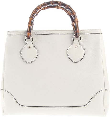 Gucci Diana Bag in White - Lyst