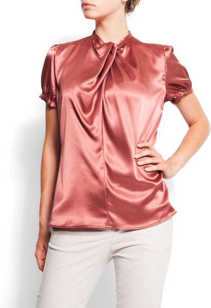 Zara Shiny Print Blouse 43