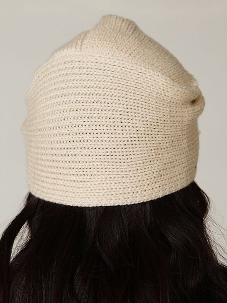 Free People Knitted Turban Beanie In Beige Natural Lyst