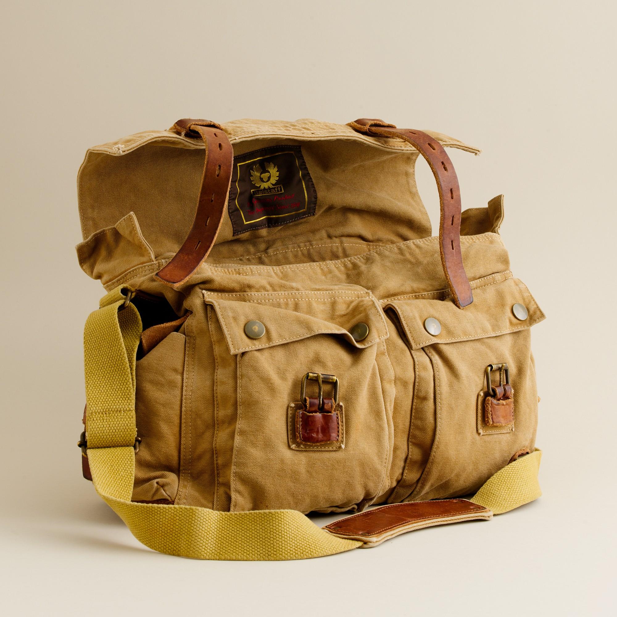 858faf23fdf Lyst - J.Crew Belstaff® Colonial Shoulder Bag in Brown for Men