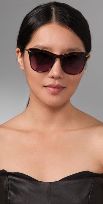 5828edd652 Lyst - Elizabeth and James Fairfax Sunglasses in Brown