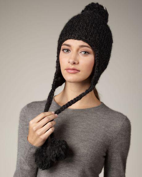схемы вязания модных шапок