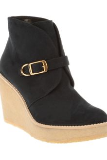 Stella McCartney Wedge Ankle Boot - Lyst