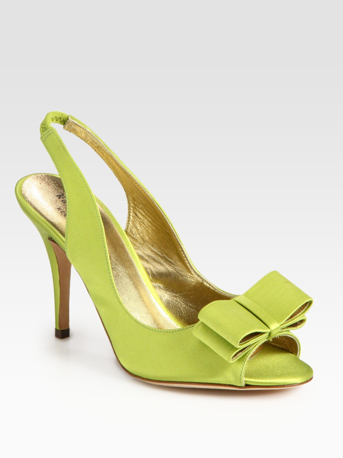 Lyst Kate Spade High Heel Shoes In Green