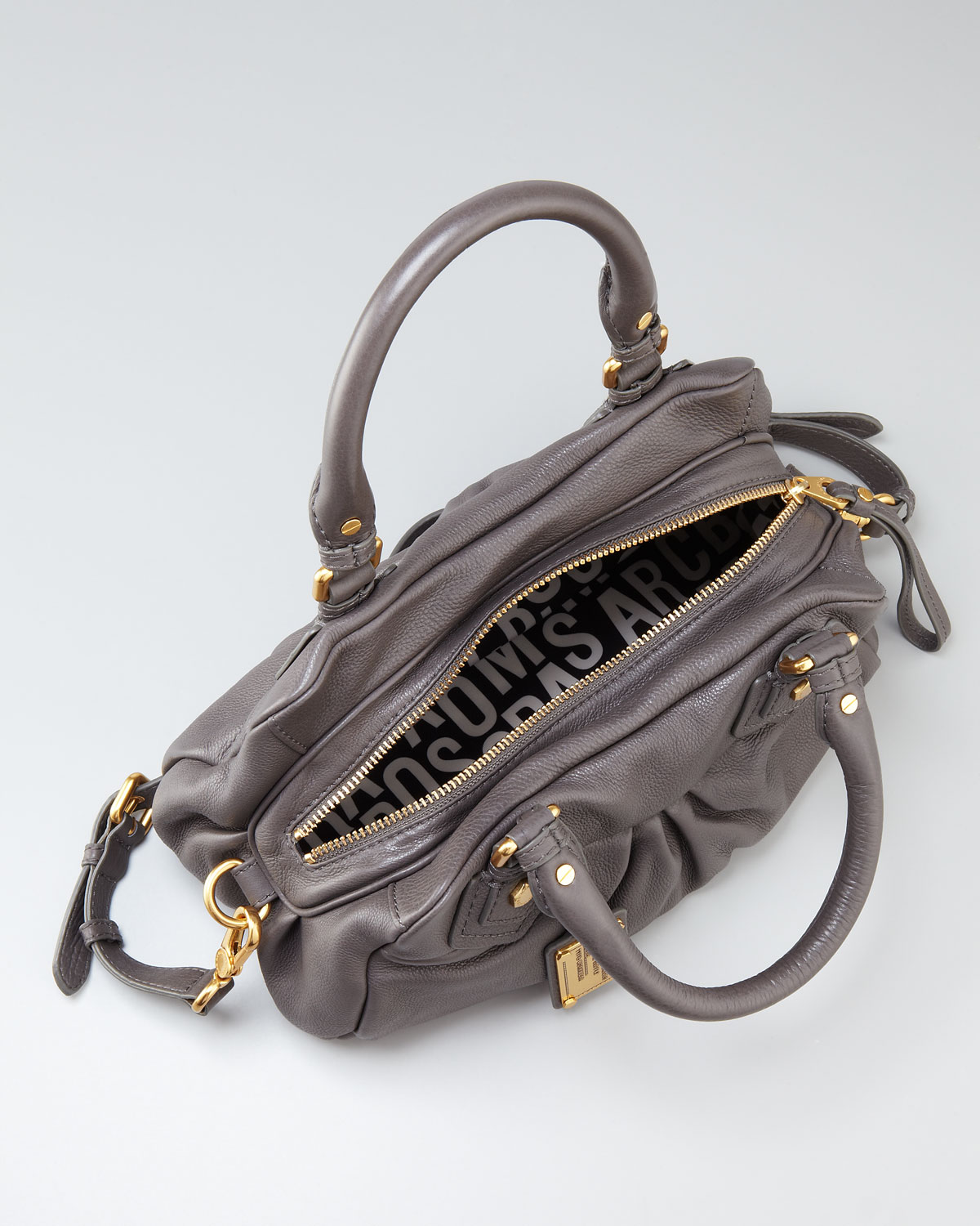 3b549b2389c9 Lyst - Marc By Marc Jacobs Classic Q Baby Groovee Satchel in Brown