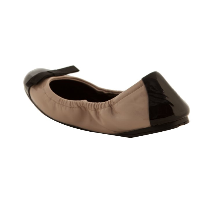 for sale the cheapest free shipping 100% guaranteed Prada Sport Cap-Toe Bow Flats ISOeWyf2ie