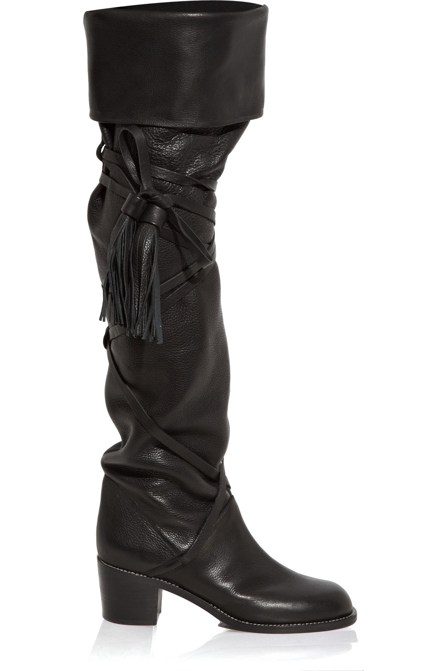 Lyst See By Chlo 233 Knee High Boot In Black