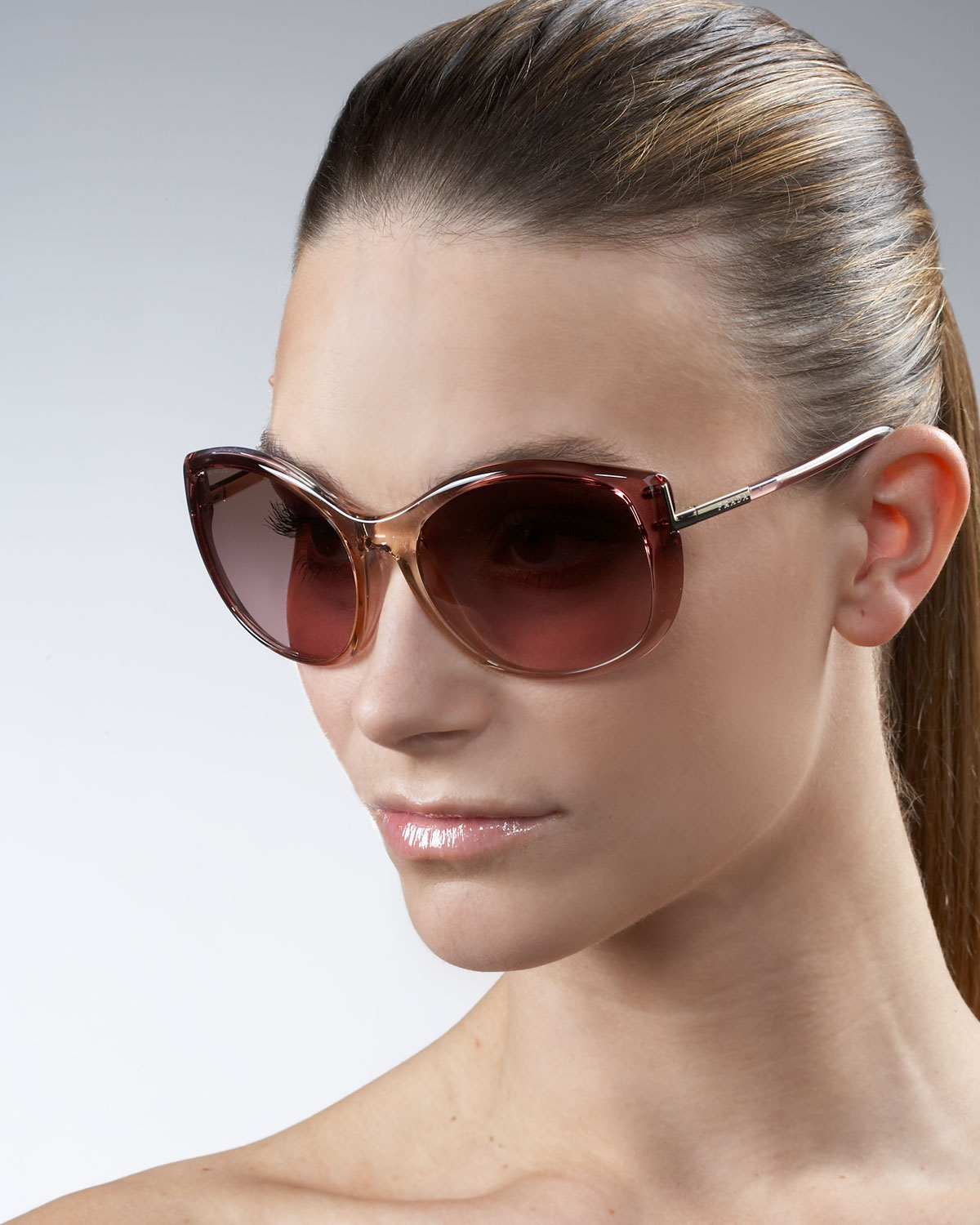 6339e2a461c Gallery. Previously sold at  Neiman Marcus · Women s Cat Eye Sunglasses ...