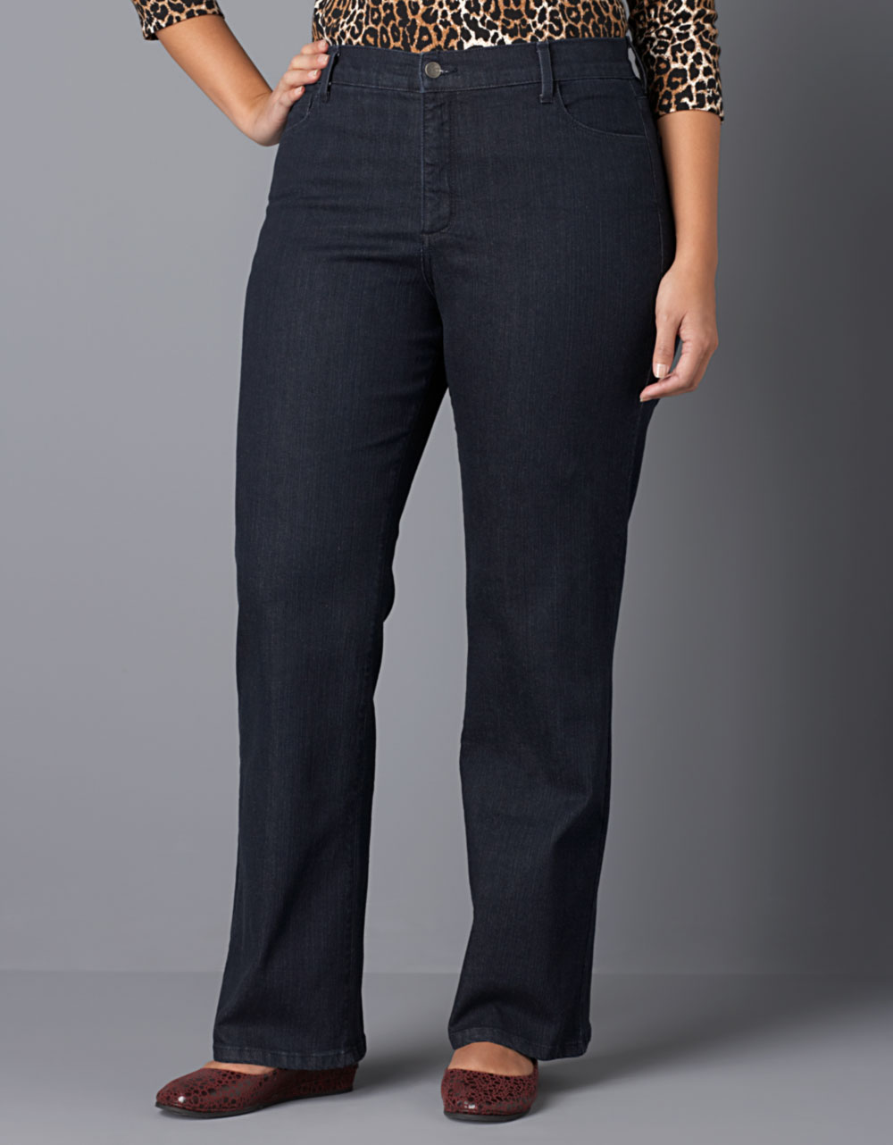 Not Your Daughter S Jeans Plus Size Barbara Rhinestone