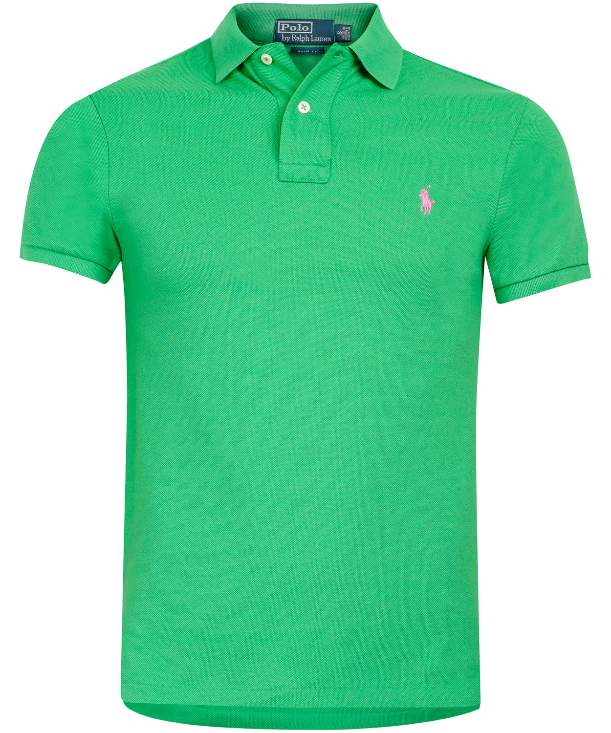 Polo ralph lauren green polo shirt in green for men lyst for Man in polo shirt