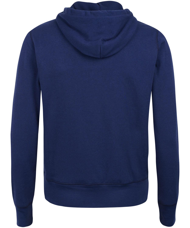 Polo ralph lauren Navy Zip Front Hoodie in Blue for Men | Lyst