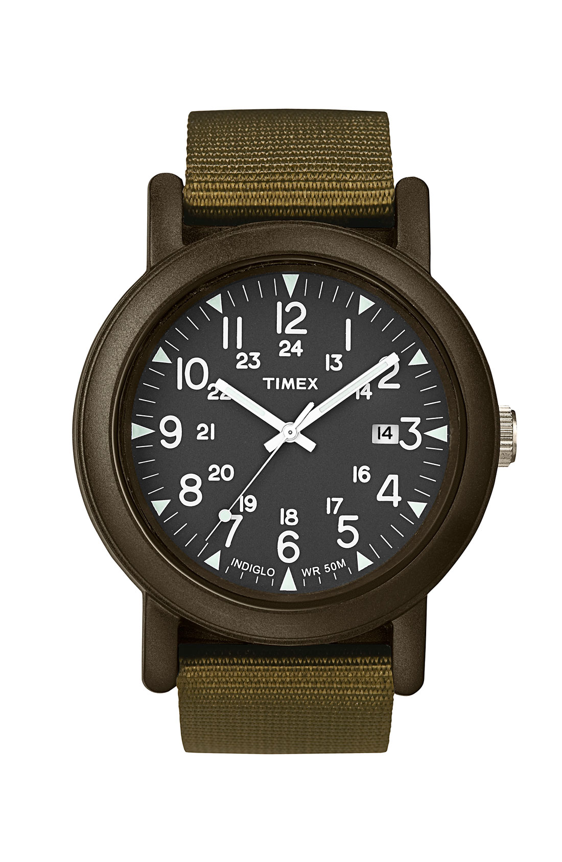 Lyst Timex Camper Resin Watch In Green For Men