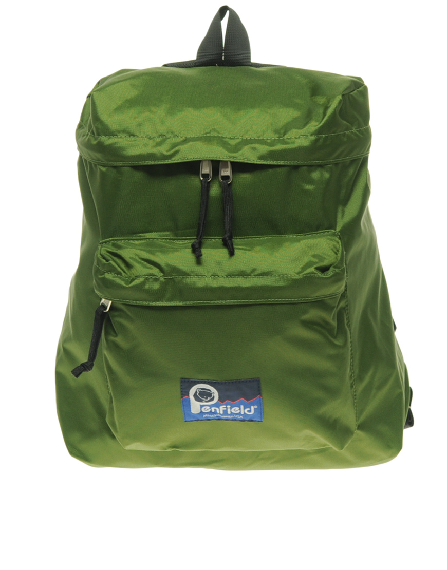 Penfield Buckland Small Nylon Backpack In Green For Men