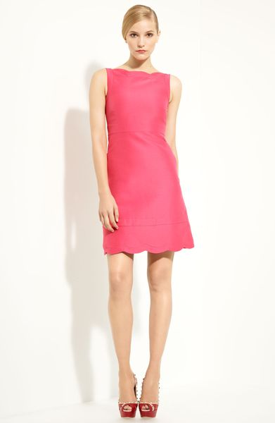 Valentino Radzimir Dress in Pink (raspberry)