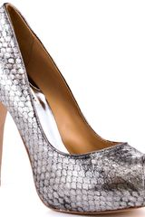 Badgley Mischka Willoe - Pewter Metallic