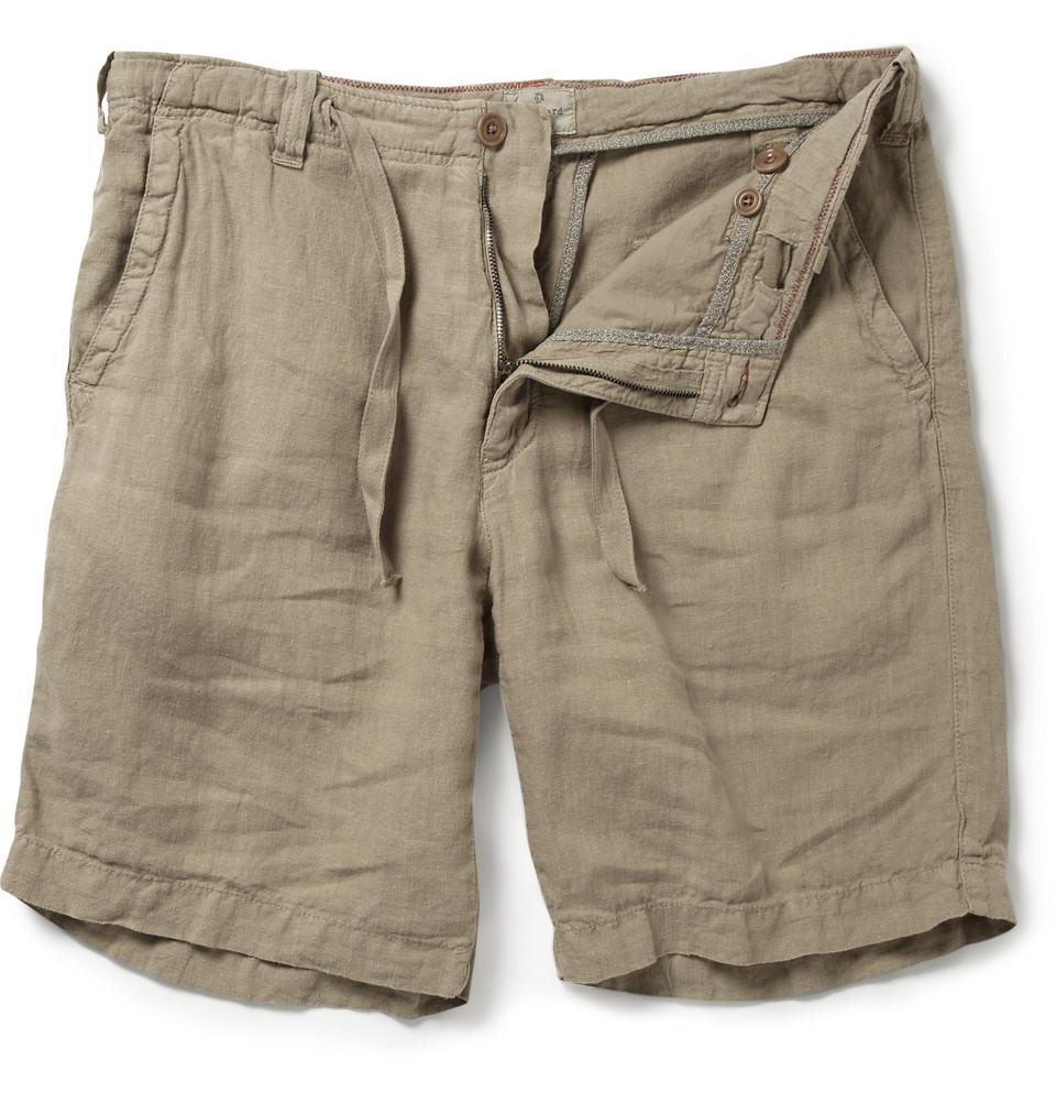 Hartford Linen Shorts ... Quiksilver Casual Shorts