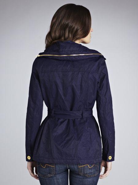 John Lewis Women Utility Jacket Navy In Blue Navy Lyst