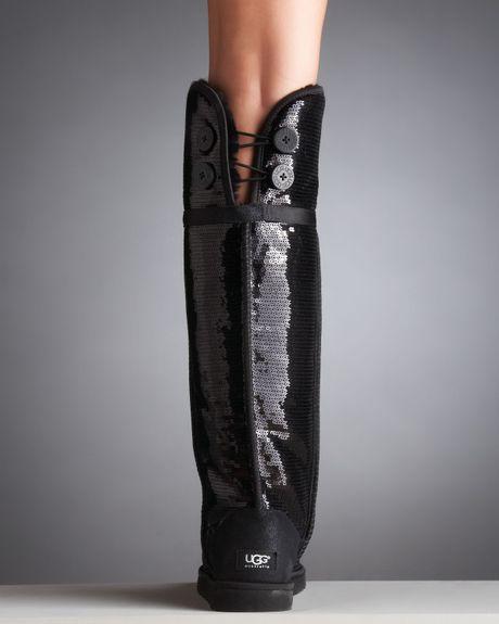 black sequin uggs sale