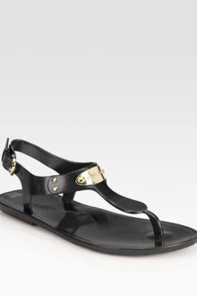 Michael by Michael Kors Jelly Slingback Thong Sandals - Lyst