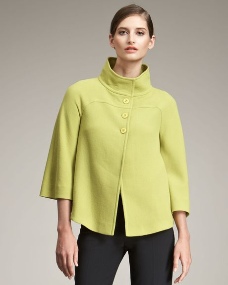 Armani Three-button Jacket in Yellow (chartrse)
