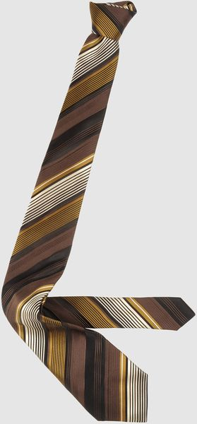 Giorgio Armani Ties in Brown for Men