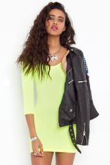 Nasty Gal Day Glo Dress