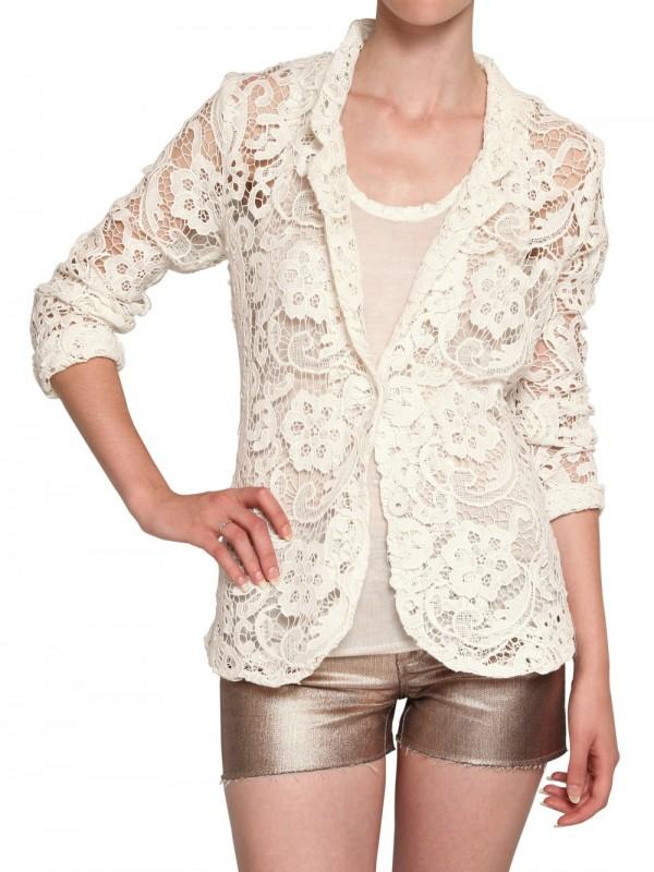 Jessica Simpson Leather Jacket