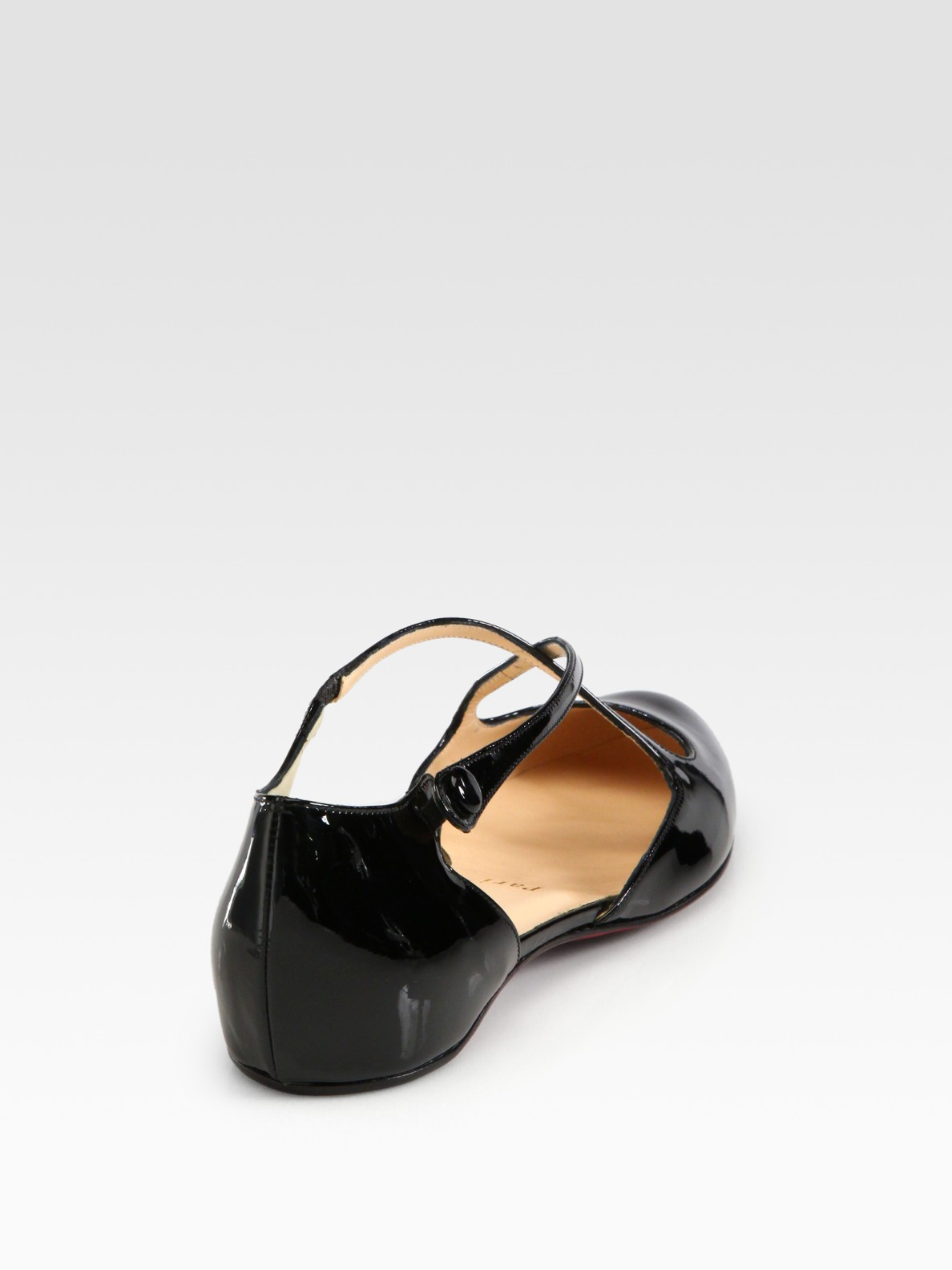christian louboutin mary jane flats