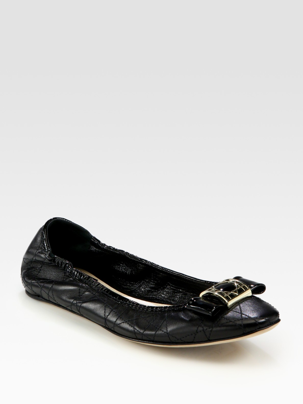 Dior Patent Leather Ballet Flats EIhSWPYwds