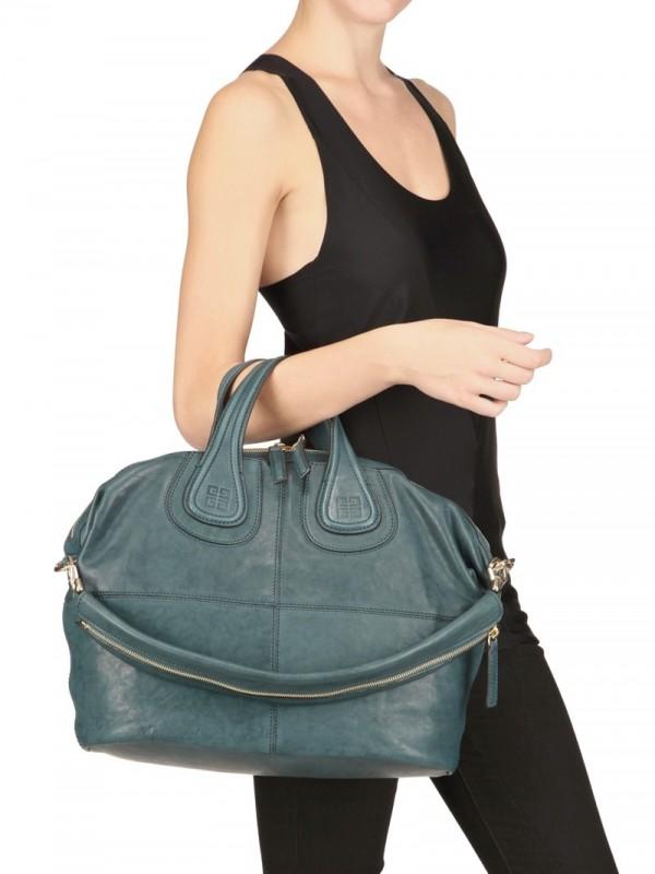 61a652730b Givenchy Nightingale Medium Shoulder Bag in Blue - Lyst