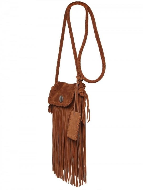 Brown Suede Purse With Fringe Best Image Ccdbb