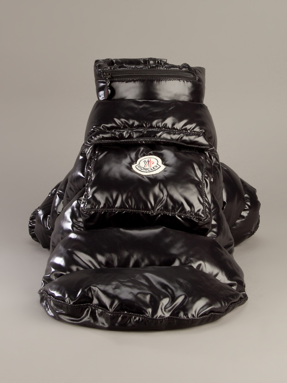 2cae2c6bd Moncler Dog Coat in Black - Lyst
