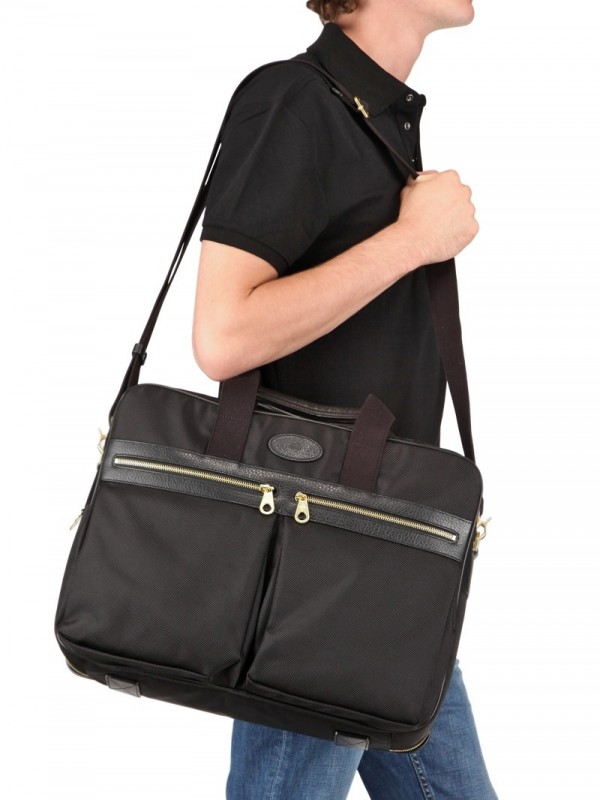 ... promo code for lyst mulberry henry overnight nylon briefcase bag in  black for men 00b10 3edde 9ae5adc628a45