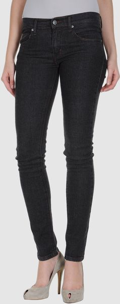 Cheap Monday Denim Trousers in Black