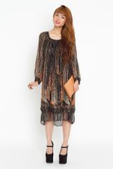 Nasty Gal Deco Dust Dress