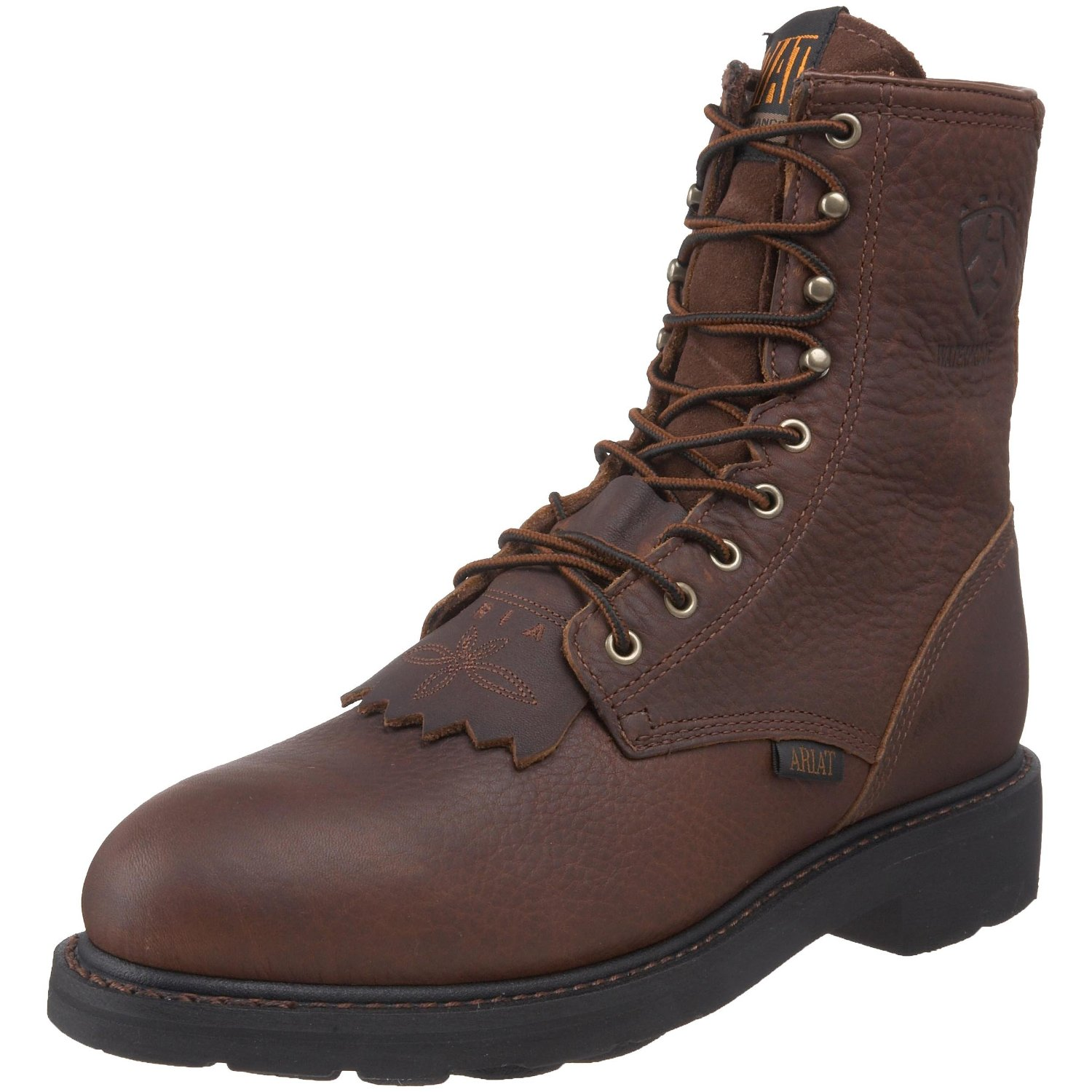 Lastest Ariat Mens 8 Inch Workhog Lace Up Boots