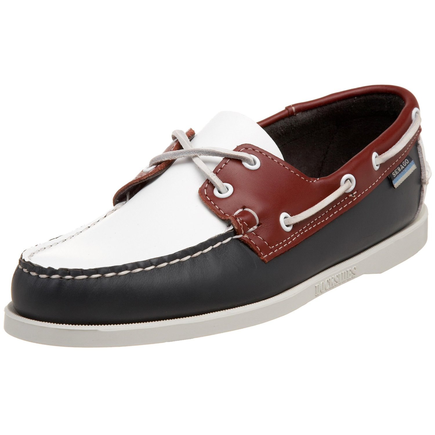Polo White Boat Shoes