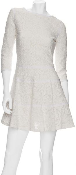 See By Chloé 3/4 Sleeve Lace Dress - Lyst