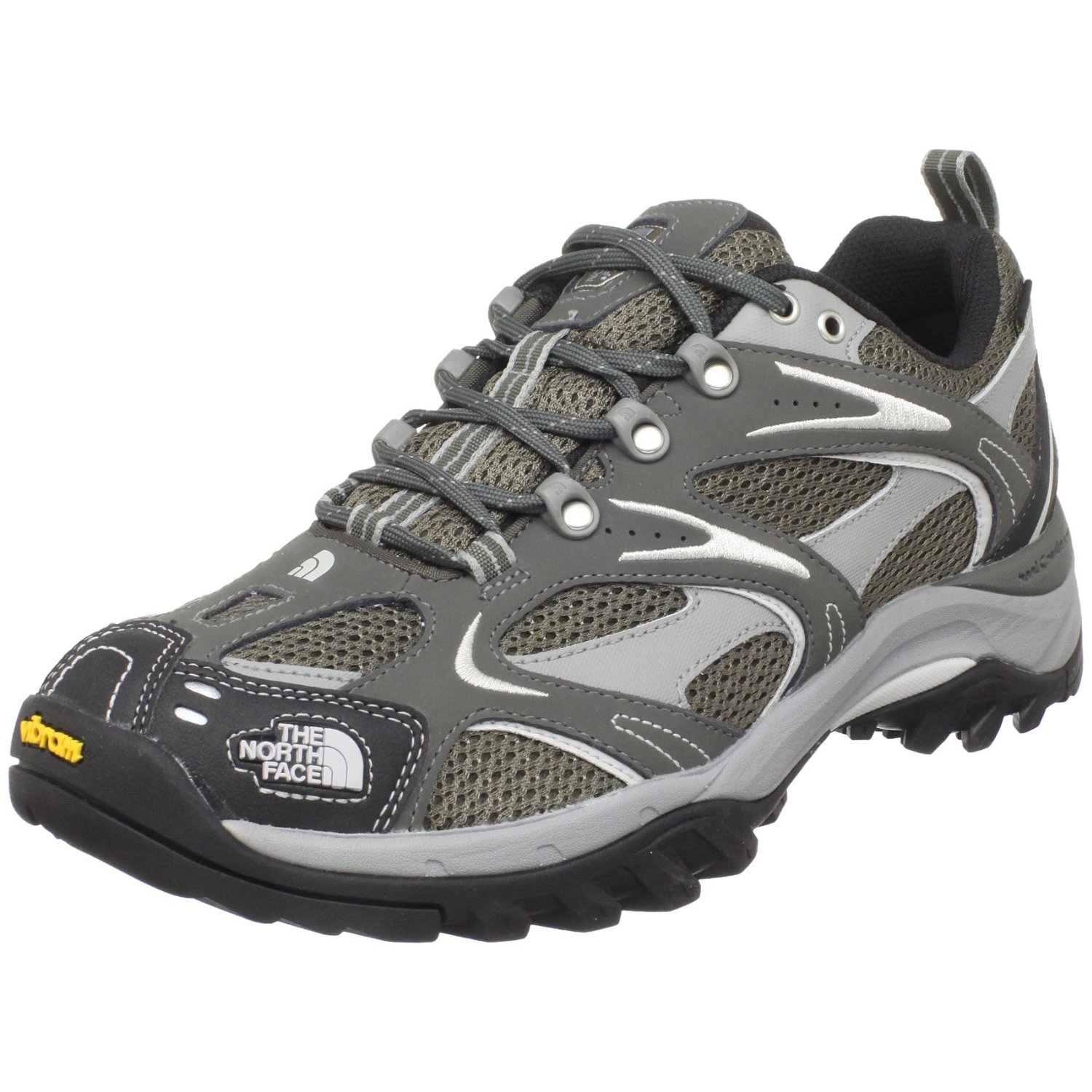 the north face hedgehog gtx xcr iii low sneakers in gray. Black Bedroom Furniture Sets. Home Design Ideas