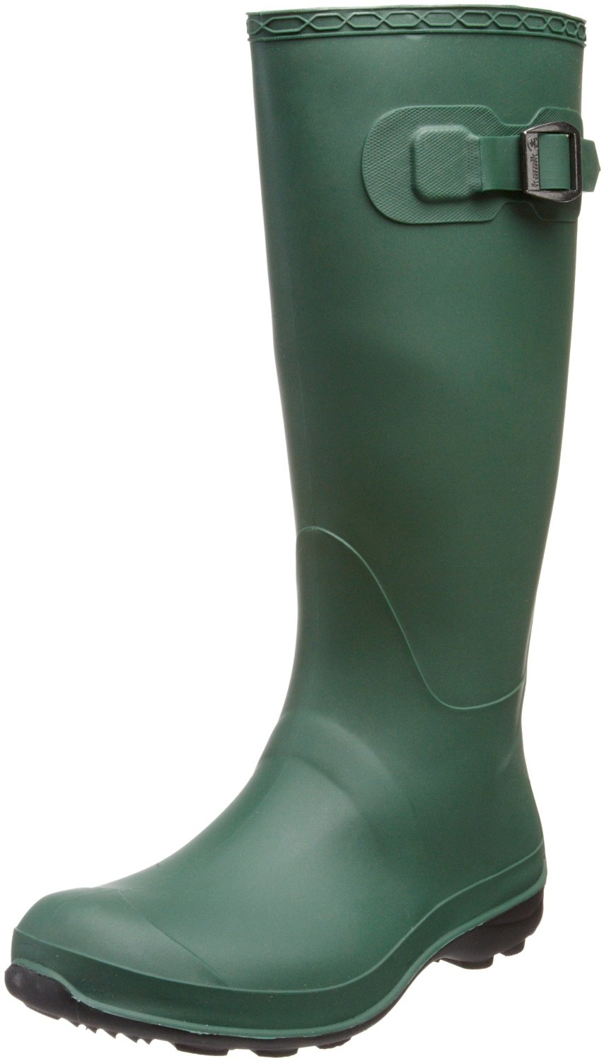 Innovative Hunter Original Adjustable Women Round Toe Synthetic Green Rain Boot | EBay